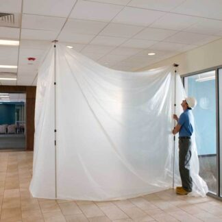 Clear Protective Dust Sheeting